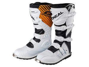 Мотоботы кроссовые Rider Boot белые