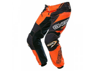 Штаны кроссовые ELEMENT RACEWEAR чёрно-оранжевые