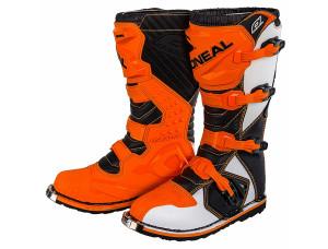 Мотоботы кроссовые Rider Boot оранжевые