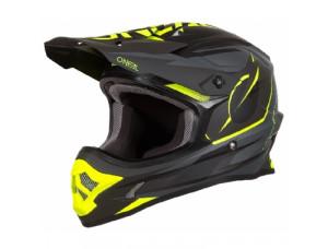 Шлем кроссовый 3SERIES RIFF черный