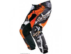 Штаны Elements SHOCKER чёрно-оранжевые