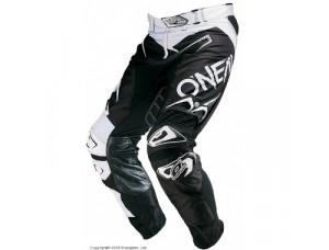 Штаны кроссовые Hardwear FLOW чёрно-белые