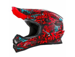 Шлем кроссовый 3SERIES ATTACK красный