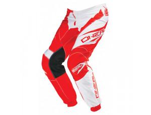 Штаны кроссовые Elements RACEWEAR красно-белые