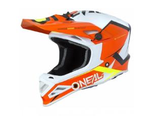 Шлем кроссовый 8SERIES BLIZZARD оранжевый