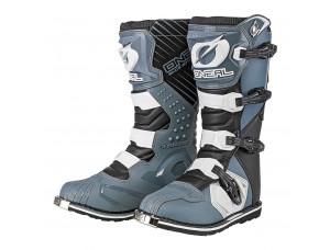 Мотоботы кроссовые RIDER Boot серые