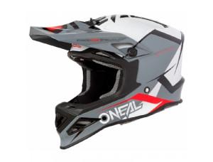 Шлем кроссовый 8SERIES BLIZZARD серый