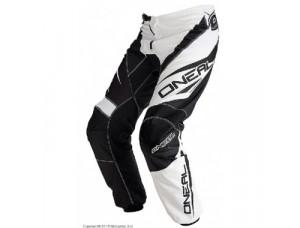 Штаны кроссовые Element RACEWEAR чёрно-белые