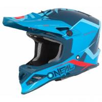 Шлем кроссовый 8SERIES BLIZZARD синий
