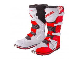 Мотоботы кроссовые RIDER Boot красные