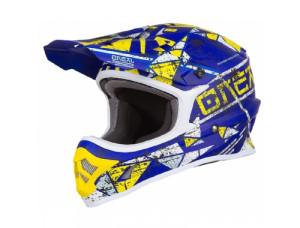 Шлем кроссовый 3SERIES ZEN синий